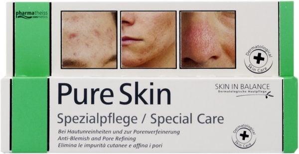 ПЮР СКИН при дефекти по кожата, матиращ ефект, регулира мастните жлези  20 мл., ФАРМАТАЙС КОЗМЕТИКС
