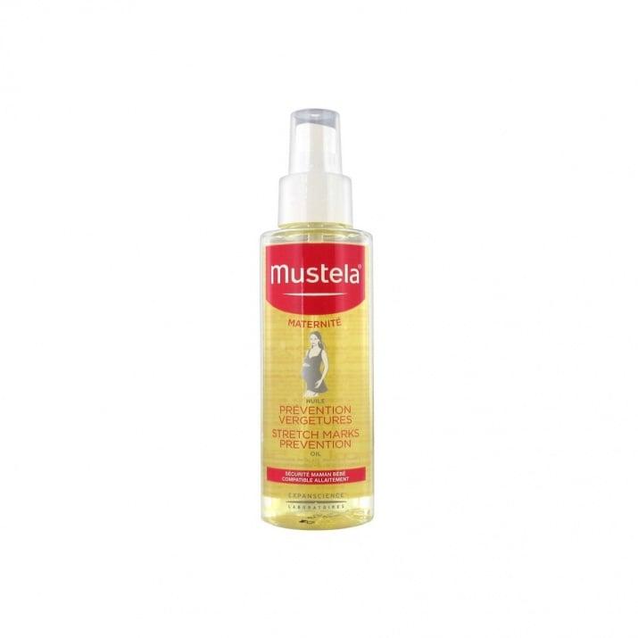 Олио против стрии подобрява еластичността на кожата с до 98% - 105 мл., МУСТЕЛА