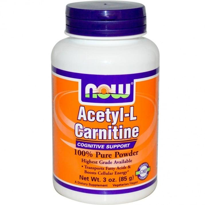 АЦЕТИЛ L - КАРНИТИН забавя стареенето и дегенерацията на нервната система 85 гр., НАУ ФУДС