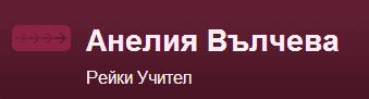 Рейки учител Анелия Вълчева