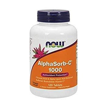 АЛФАСОРБ - С антиоксидант 1000 мг * 120таблетки, НАУ ФУДС
