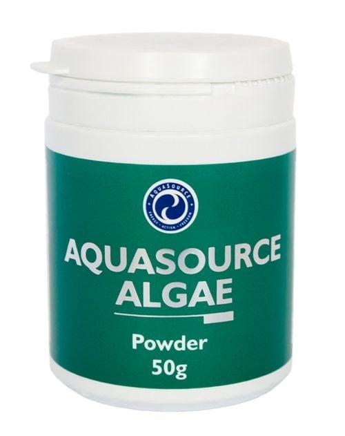 ВОДОРАСЛИ НА ПРАХ - естествен пълноценен източник на хранителни вещества - 50 гр., АКВАСОРС