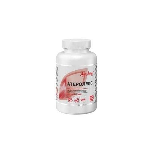 АТЕРОЛЕКС -комплекс за профилактика на Атеросклероза и Синдром на хроничната умора *90 капс., Арт Лайф