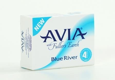 АВИА САПУН С ХУМА BLUE RIVER - 25 гр., х 4, BREDIS LTD