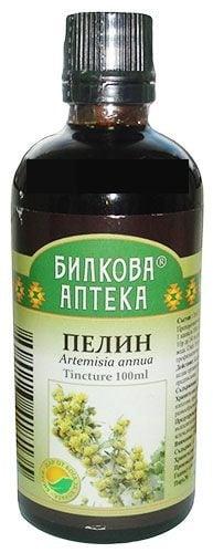 ТИНКТУРА БЯЛ ПЕЛИН - влияе благоприятно върху храносмилателния тракт, течна форма x 100 мл., BIOHERBA HEALTH CARE