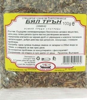 БЯЛ ТРЪН СЕМЕ - 100 грама