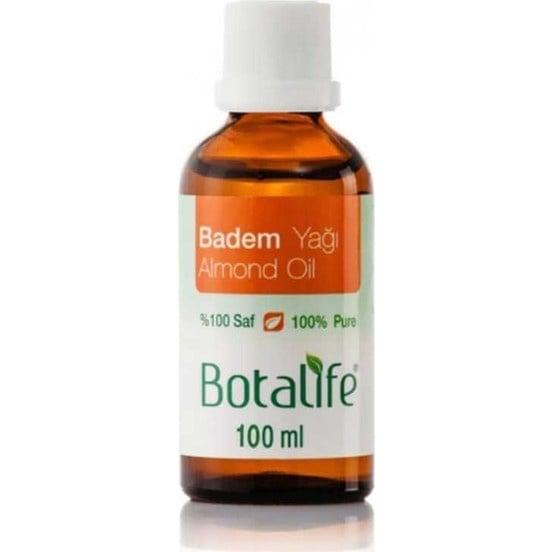 МАСЛО ОТ БАДЕМ - спомага за поддържането на здрави коса и кожа - 100 мл., БОТАЛАЙФ