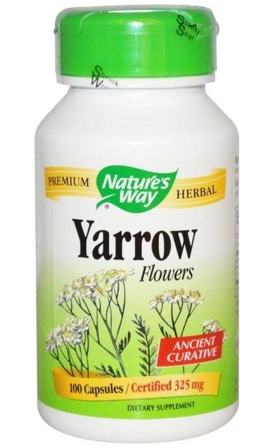 БЯЛ РАВНЕЦ - подпомага кръвоснабдяването и укрепва цялостно организма - капсули 325 мг. х 100, NATURE'S WAY