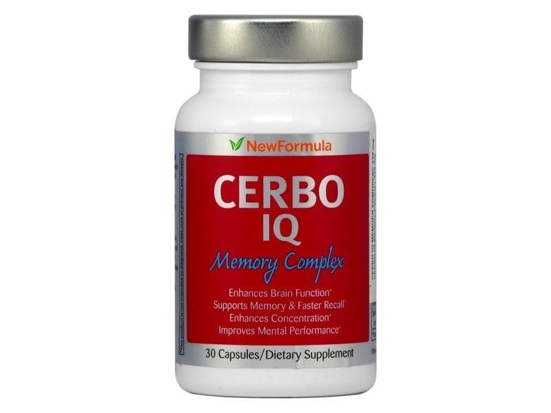 СЕРБО IQ МЕМОРИ КОМПЛЕКС оптимизира когнитивните функции на мозъка, стимулира запаметяването и концентрацията 435 мг * 30капсули