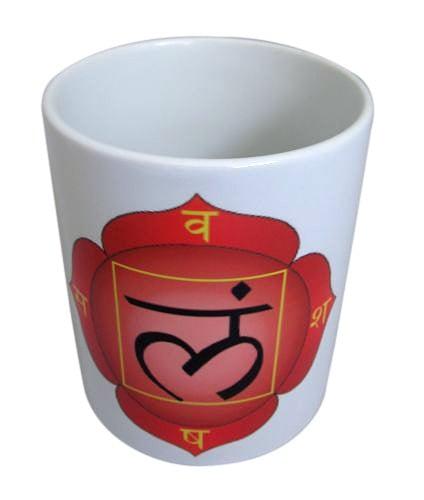 """Порцеланова чаша """"Муладхара"""" - първа чакра"""