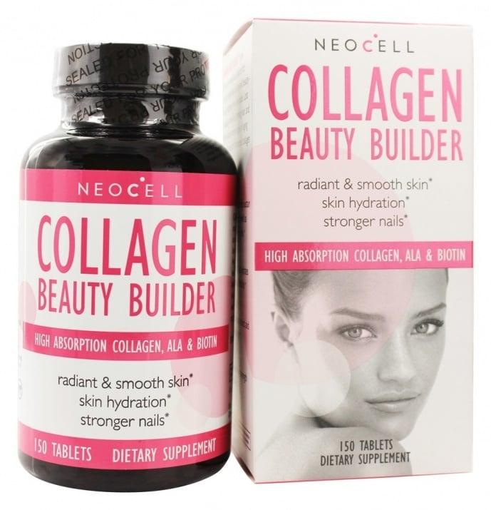 КОЛАГЕН БЮТИ БИЛДЪР - поддържа еластичността на кожата и нейната хидратация * 150 таблетки
