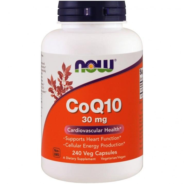 КОЕНЗИМ Q10 30 мг. антиоксидант * 240капсули, НАУ ФУДС