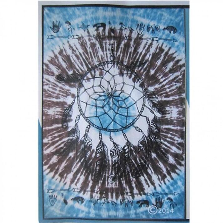 """Стенен декоративен килим """"Dreamcatcher"""" - за стена или за сядане"""