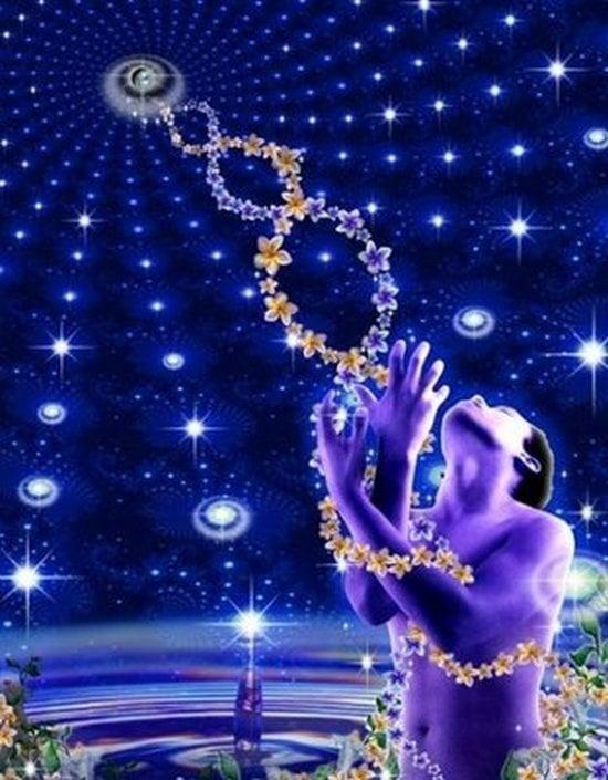 Как промените в нашето ДНК влияят на Духовното Издигане