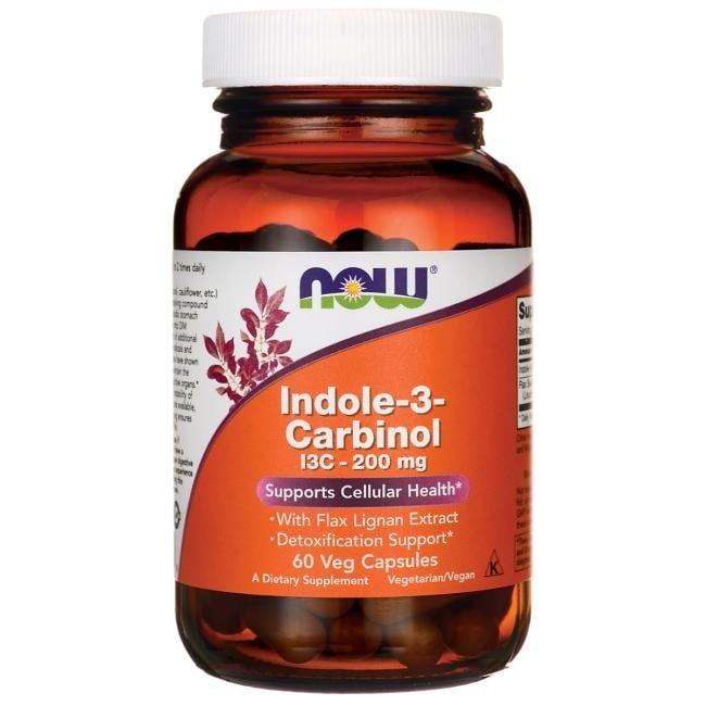ИНДОЛ - 3 - КАРБИНОЛ поддържа клетъчното здраве * 60капс.,НАУ ФУДС