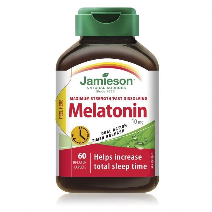 МЕЛАТОНИН 10 мг за спокоен и здрав сън * 60 таблетки