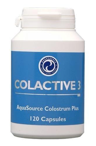 КОЛАКТИВ 3 КОЛАСТРА - за добро физическо здраве - капсули х 120, АКВАСОРС
