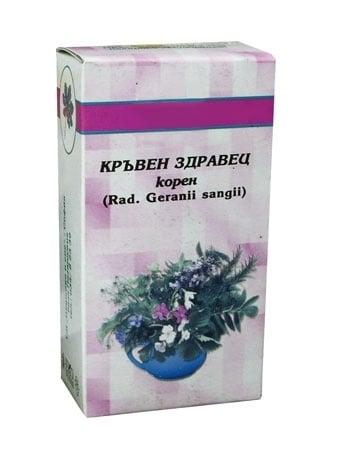 КРЪВЕН ЗДРАВЕЦ КОРЕНИ - 50 гр.