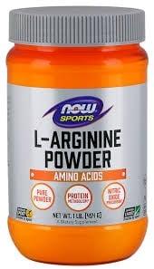 АРГИНИН подобрява кръвоснабдяването към клетките454 гр., НАУ ФУДС