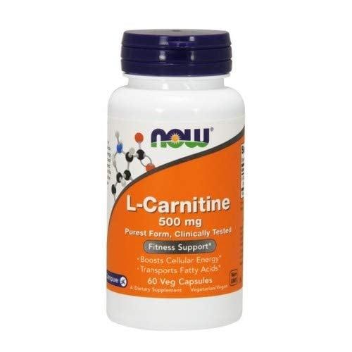 L - КАРНИТИН 500 мг. основен източник на енергия на мускулите * 60капс., НАУ ФУДС