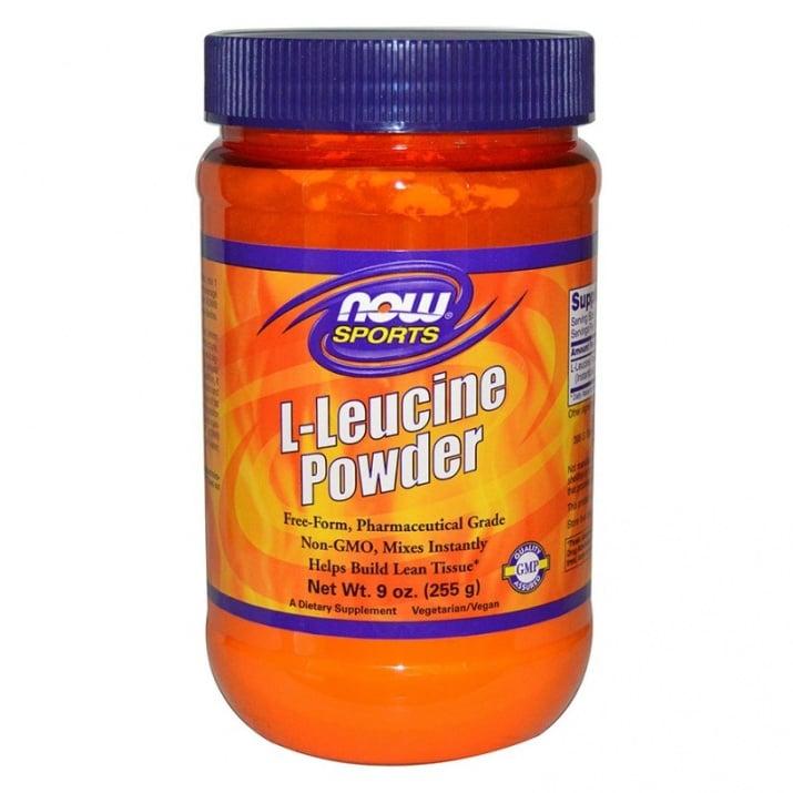L - ЛЕВЦИН подпомага изграждането на чиста мускулна маса 255 гр., НАУ ФУДС