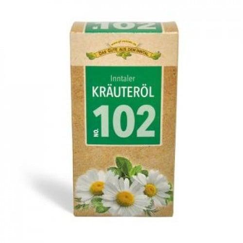 МАСЛО СЪС 102 БИЛКИ KRAUTEROL - при възпаления на ставите и мускулите - 100 мл.