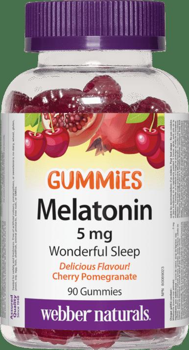 МЕЛАТОНИН ГЪМИС желирани таблетки 5 мг * 90 УЕБЪР НАТУРАЛС