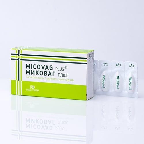МИКОВАГ ПЛЮС - за адювантно лечение на вагинална микоза - * 10 вагинални овули