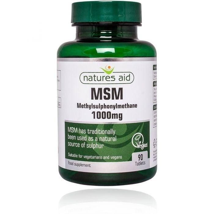 МЕТИЛСУЛФОНИЛМЕТАН (МСМ) 1000 мг * 90 таблетки