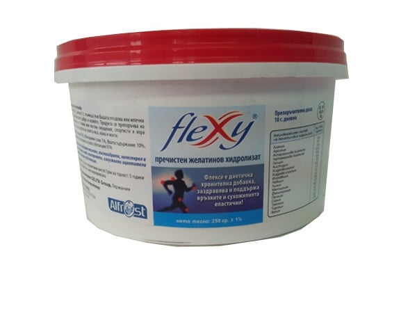 ФЛЕКСИ ПРАХ - подпомага повторното изграждане и възстановяване на колаген -  250 гр., ALDA INTERNATIONAL