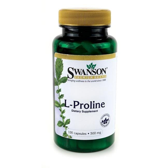 L-ПРОЛИН 500 мг. - ЗАЗДРАВЯВА СТАВИТЕ И СУХОЖИЛИЯТА * 100капсули , СУОНСЪН