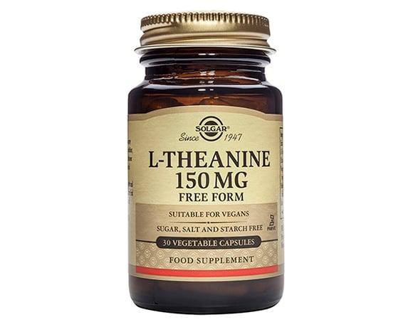 L - ТЕАНИН 150 мг. при стрес, тревожност и раздразнителност * 30капс., СОЛГАР