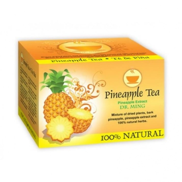 Д-р МИНГ - Чай за отслабване с вкус на ананас - 25 пакетчета, ТЕЛЕСТАР