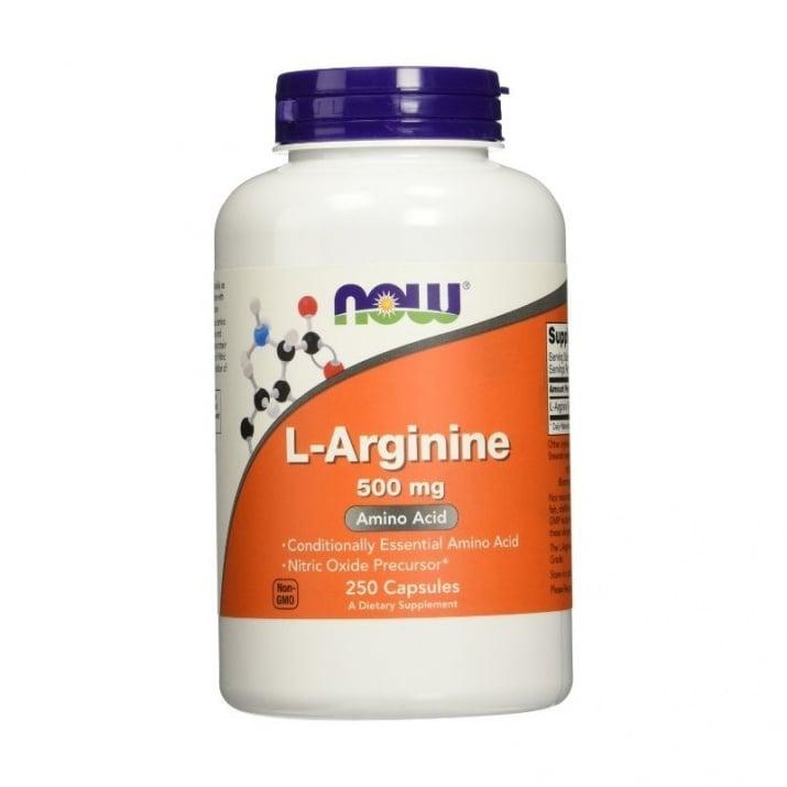 НАУ ФУДС АРГИНИН капс. 500 мг. * 250