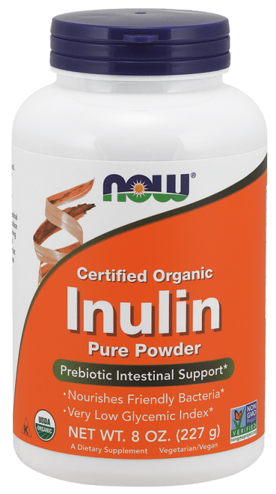 ИНУЛИН - пробиотик - прах х 227 гр., NOW FOODS