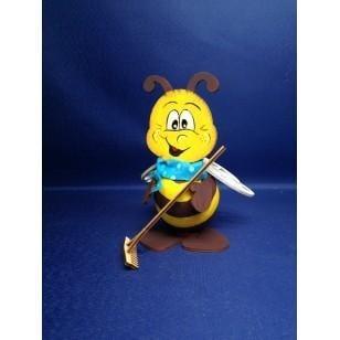 Креативен комплект Пчела с връзка, дърво, 160 mm