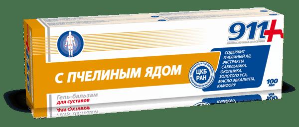 ГЕЛ-БАЛСАМ ПЧЕЛНА ОТРОВА ЗА СТАВИ 100 мл., ТВИНС ТЕК РОССИЯ