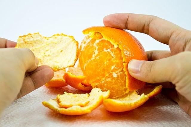 Не изхвърляйте портокаловите кори в коша
