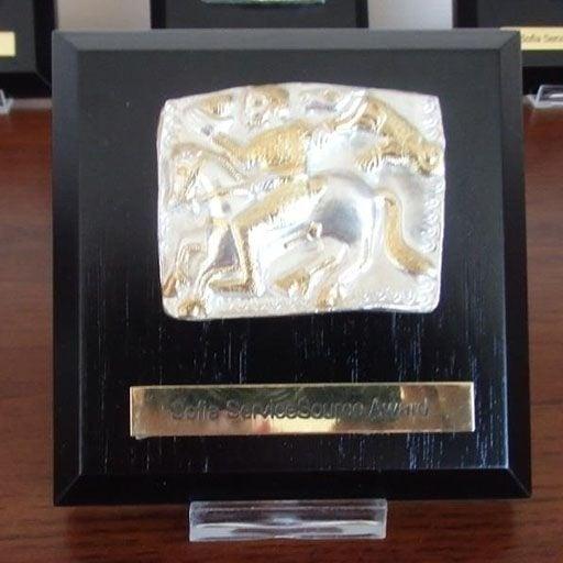 Луксозен сувенир с художествена реплика от Летнишкото съкровище