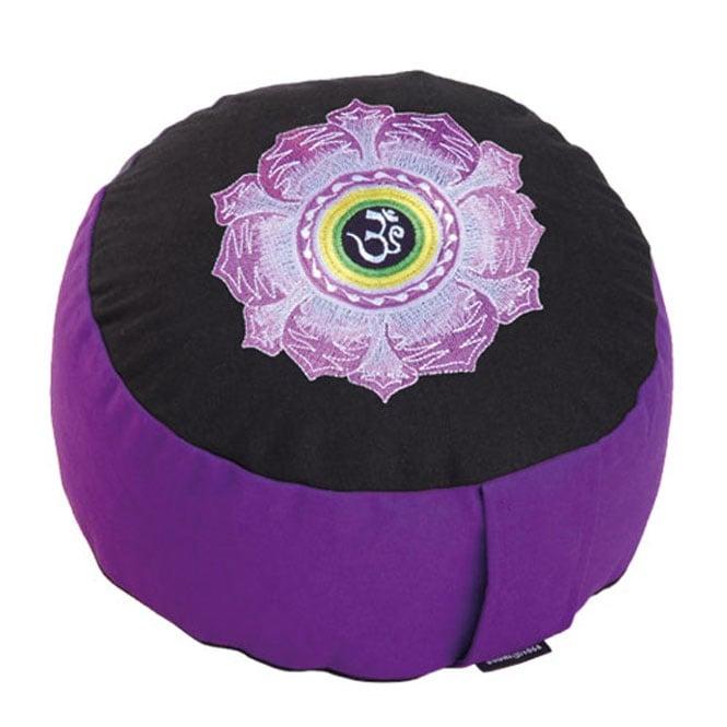 RONDO BASIC възглавница за медитация с бродерия, BODHI YOGA