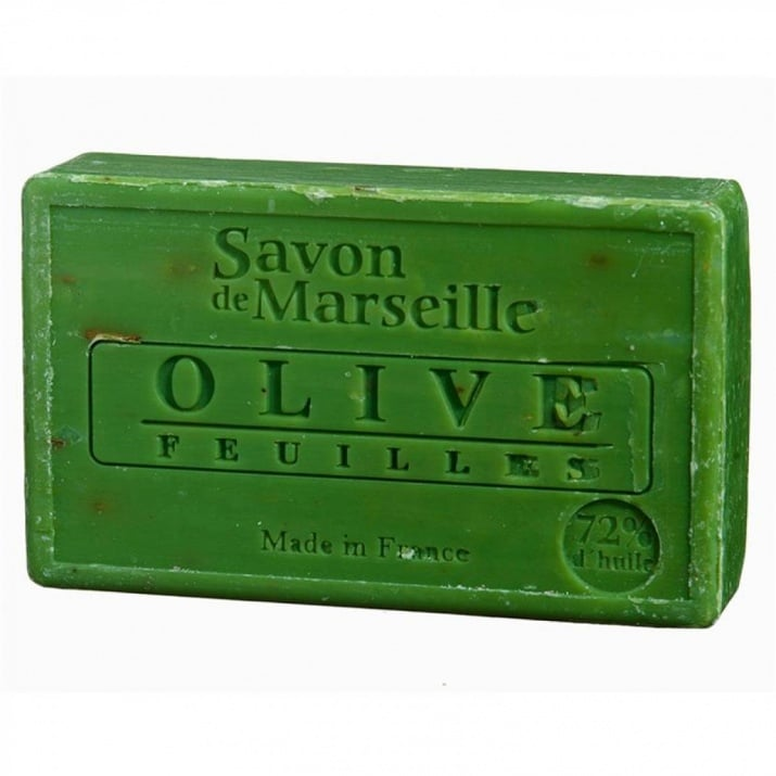 Натурален сапун от Марсилия с маслинови листа