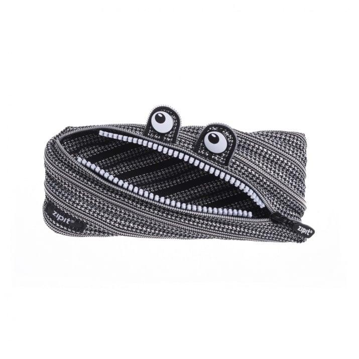 Несесер Monster, 22x2x10cm, черно и бяло