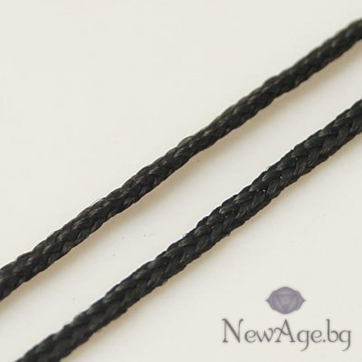 Шнур полиестер 1 мм черен ± 91 метра
