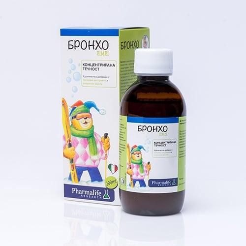 БРОНХО БИМБИ сироп - подпомагат нормалната функция на горните дихателни пътища - 200 мл.