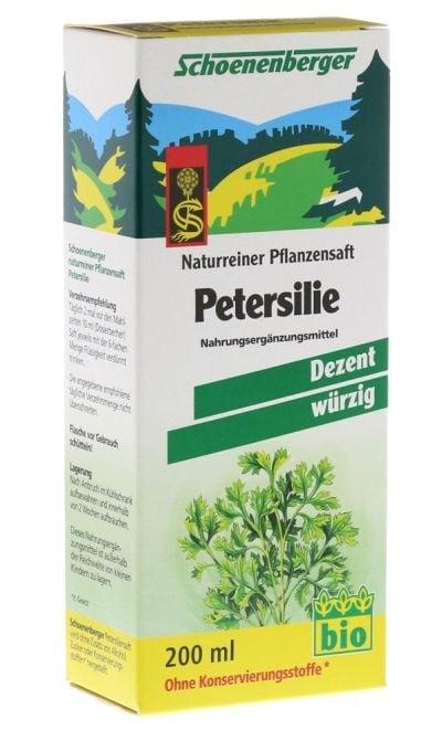 БИО СОК ОТ МАГДАНОЗ - подобрява дейността на бъбреците и пикочния мехур - 200 мл., SCHOENENBERGER