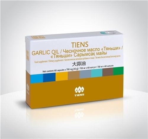 TIANSHI МАСЛО ОТ ЧЕСЪН – намаля холестерола и кръвното налягане – капсули 778 мг. х 60