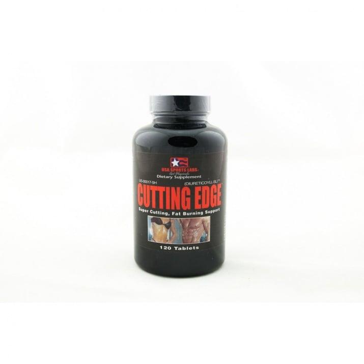 КЪТИНГ ЕЙДЖ - хранителна добавка за изгаряне на мазнини - таблетки х 120, USA LABORATORIES
