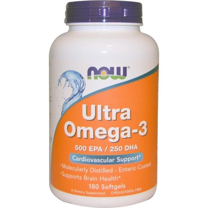 УЛТРА ОМЕГА - 3  срещу атеросклероза * 180дражета, НАУ ФУДС