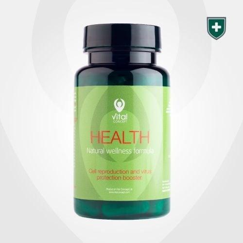 ХЕЛТ - подсилва имунната система и защитава организма от вируси - капсули х 60, VITAL CONCEPT