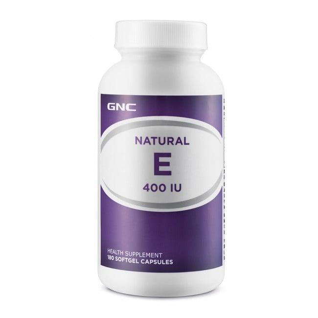 ВИТАМИН Е - осигурява антиоксидантна защита -  капсули х 100, GNC